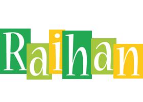 Raihan lemonade logo