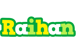 Raihan soccer logo