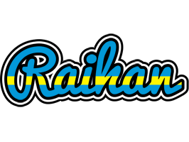 Raihan sweden logo