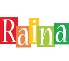 Raina colors logo