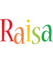 Raisa birthday logo
