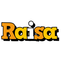 Raisa cartoon logo