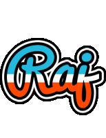 Raj america logo