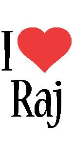 Raj i-love logo