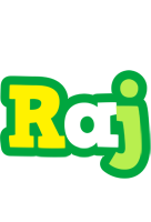 Raj soccer logo