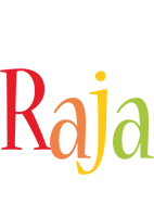 Raja birthday logo