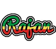 Rajan african logo