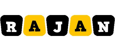 Rajan boots logo