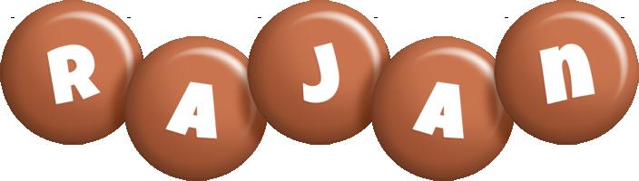 Rajan candy-brown logo