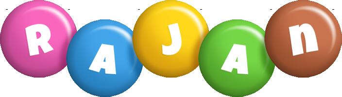 Rajan candy logo