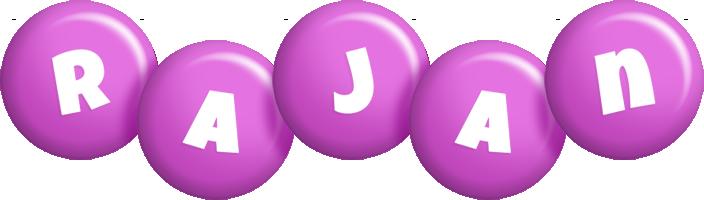 Rajan candy-purple logo