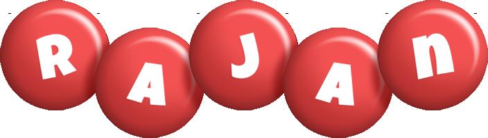 Rajan candy-red logo