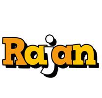 Rajan cartoon logo