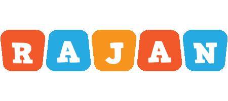 Rajan comics logo
