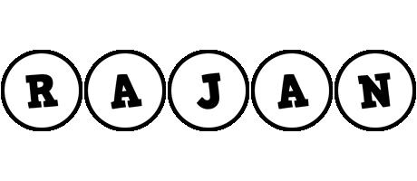 Rajan handy logo