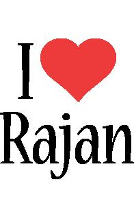Rajan i-love logo