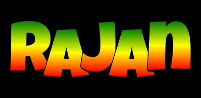 Rajan mango logo