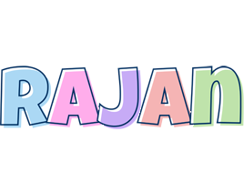 Rajan pastel logo