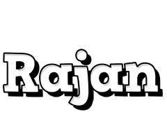 Rajan snowing logo