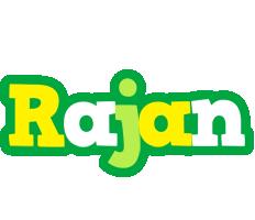 Rajan soccer logo