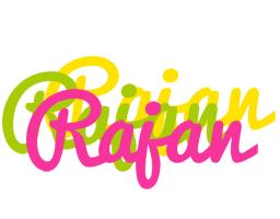 Rajan sweets logo