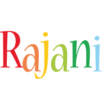 Rajani birthday logo