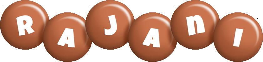 Rajani candy-brown logo