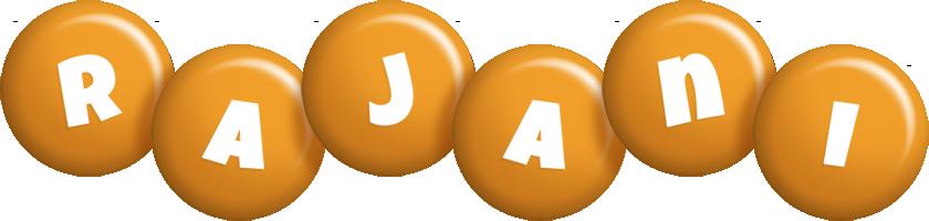 Rajani candy-orange logo