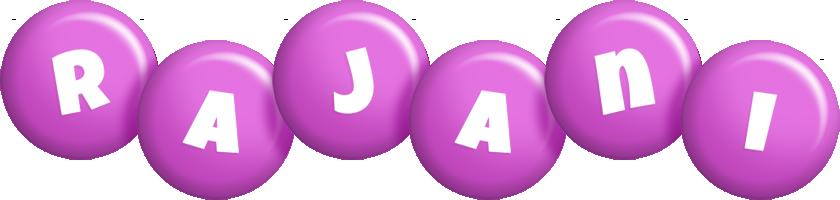 Rajani candy-purple logo