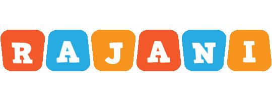 Rajani comics logo