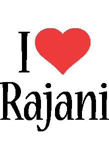Rajani i-love logo