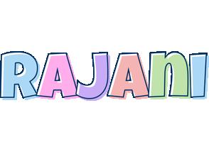 Rajani pastel logo