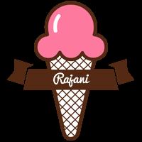 Rajani premium logo
