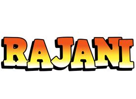 Rajani sunset logo