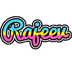 Rajeev circus logo