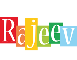 Rajeev colors logo
