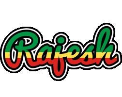 Rajesh african logo