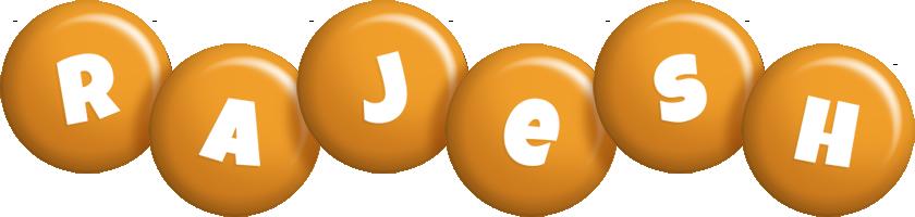Rajesh candy-orange logo
