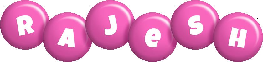 Rajesh candy-pink logo