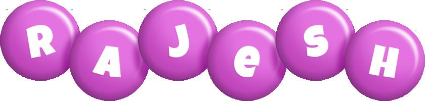 Rajesh candy-purple logo