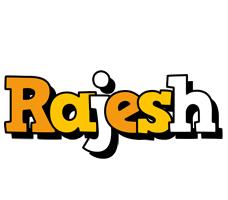 Rajesh cartoon logo