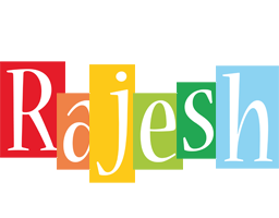 Rajesh colors logo