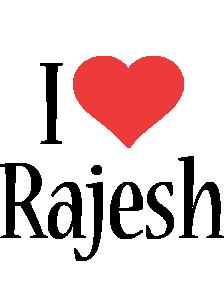 Rajesh i-love logo