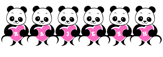Rajesh love-panda logo
