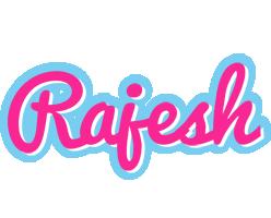 Rajesh popstar logo