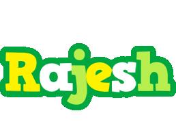 Rajesh soccer logo