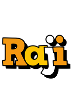 Raji cartoon logo