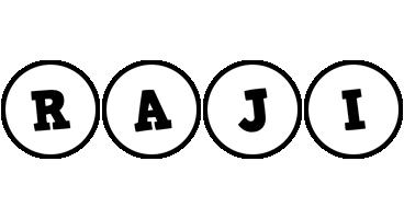 Raji handy logo