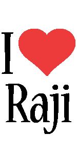 Raji i-love logo