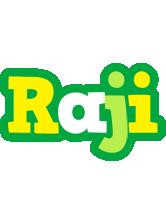 Raji soccer logo